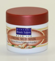 Facial Mud Mask - Argan Oil